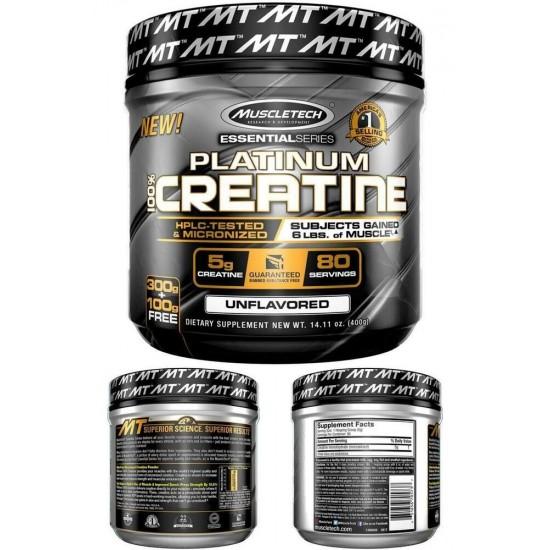 MuscleTech Platinum 100% Creatine 400 gr