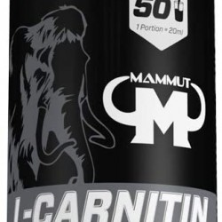 MAMMUT NUTRITION L-CARNITIN LIQUID - LIME - 1000 ML BOTTLE