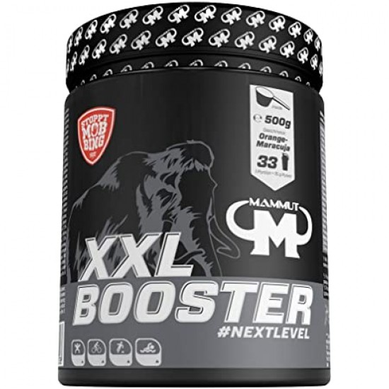 MAMMUT NUTRITION XXL BOOSTER - ORANGE MARACUJA - 500 G