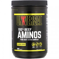 Universal Nutrition 100% Beef Aminos 200 ταμπλέτες