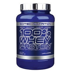 Scitec Nutrition 100% Whey Protein 920gr Vanilla