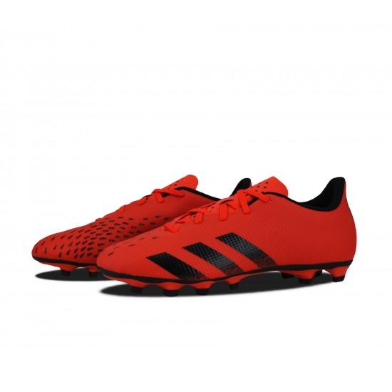 Adidas Predator Freak.4 FxG Χαμηλό Ποδοσφαιρικό Παπούτσι με Τάπες Κόκκινο