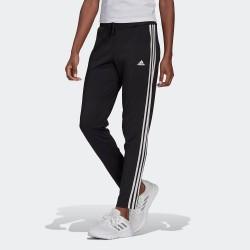 Adidas 3 Stripes 7/8 Παντελόνι Γυναικείας Φόρμας Μαύρο