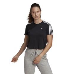 Adidas Essentials Loose 3-stripes Black