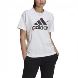 Adidas Valentine Graphic White