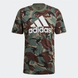 Adidas Essentials Camouflage Tee GK9808 Legacy Green