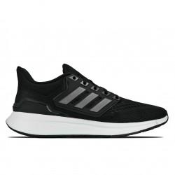 Adidas EQ21 Run Ανδρικά Αθλητικά Παπούτσια Running Μαύρα