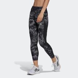 Adidas Aeroready Designed Move Αθλητικό Γυναικείο Μακρύ Κολάν Ψηλόμεσο Μαύρο