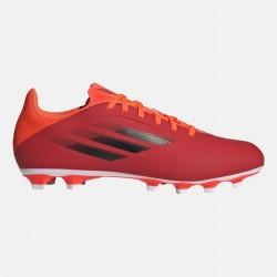 Adidas X Speedflow.4 FXG Χαμηλό Ποδοσφαιρικό Παπούτσι με Τάπες Κόκκινο