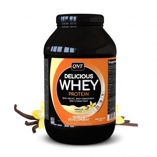 QNT Delicious Whey Protein 908gr Vanilla