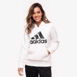 Adidas Badge Of Sport Pullover Fleece GC6916 White