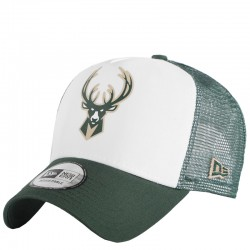 New Era Milwaukee Bucks Colour Block 12380798 White / Green