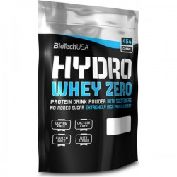 Biotech USA Hydro Whey Zero 454gr Σοκολάτα
