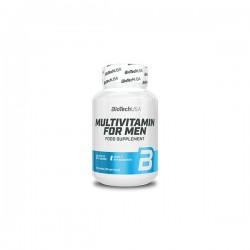 MULTIVITAMIN FOR MEN 60tabs (BIOTECH USA)
