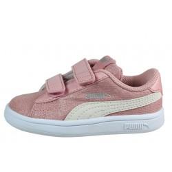 PUMA Smash v2 Glitz Glam Baby Girls' Trainers 367380_15