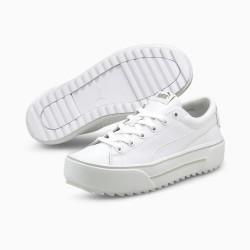 Puma Kaia Platform L Γυναικείο Flatform Sneaker Λευκό