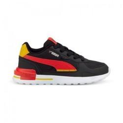 Puma Παιδικό Sneaker Graviton Tech AC PS για Αγόρι Μαύρο