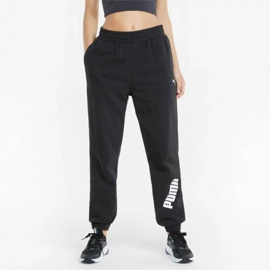 Puma Modern Sport Παντελόνι Γυναικείας Φόρμας με Λάστιχο Μαύρο