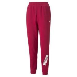Puma Modern Sport Παντελόνι Γυναικείας Φόρμας με Λάστιχο Clay Red