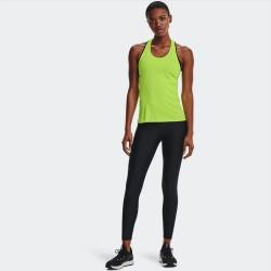Under Armour Heat Gear Αθλητικό Γυναικείο Μακρύ Κολάν Ψηλόμεσο Μαύρο