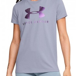 Under Armour Graphic Sportstyle Classic Crew 1346844-555 Purple Dusk