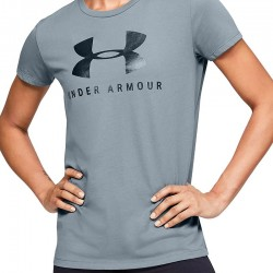 Under Armour Graphic Sportstyle Classic Crew 1346844-396 Hushed Turquoise