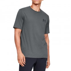 Under Armour Sportstyle Left Chest 1326799-012 Grey