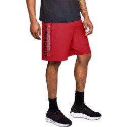 Under Armour Woven Graphic Shorts Wordmark 1320203-600 Red