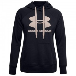 Under Armour Rival Fleece Logo 1356318-003 Black