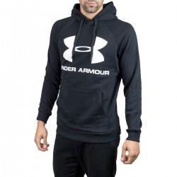 Under Armour Rival Fleece Logo 1345628-001 Black