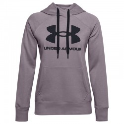 Under Armour Rival Fleece Logo 1356318-585 Purple
