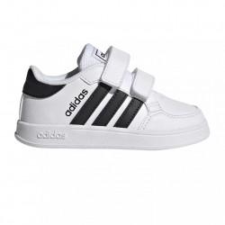 Adidas Παιδικό Sneaker Breaknet με Σκρατς για Αγόρι Λευκό