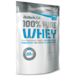 Biotech USA 100% Pure Whey 454gr coockies and cream