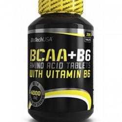 biotech BCAA+B6 100tabs