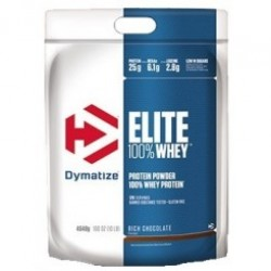 Dymatize Elite Whey Protein 4540gr Rich Chocolate