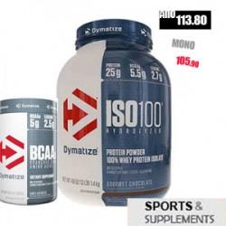 DYMATIZE ISO 100 + BCAA 2:1:1 300 GR
