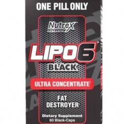 Nutrex Lipo 6 Black Ultra Concetrate 60 Caps