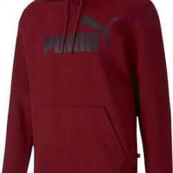 Puma Fleece Hoodie 855031-50 Burgundy