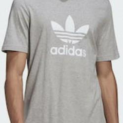 Adidas Adicolor Classics Trefoil Tee GN3465 Medium Grey Heather/White