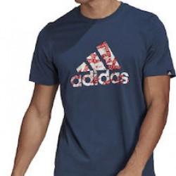 Adidas Tape Logo Graphic GL3702 Navy