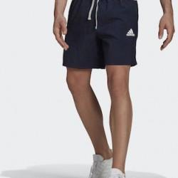 Adidas Essentials Gradient Logo GK9595 Navy